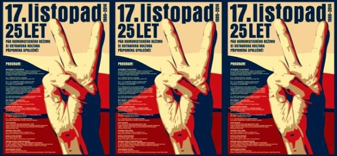 Ostravská kultura si připomene čtvrtstoletí od pádu komunismu společně!