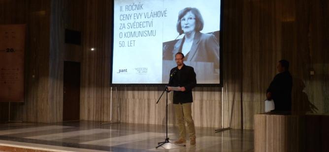 Ceny Evy Vláhové zarok 2014byly slavnostně předány laureátům