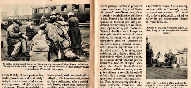 Moderni Dejiny Cz Cesta Do Raje Co Videli Cesti Delnici A