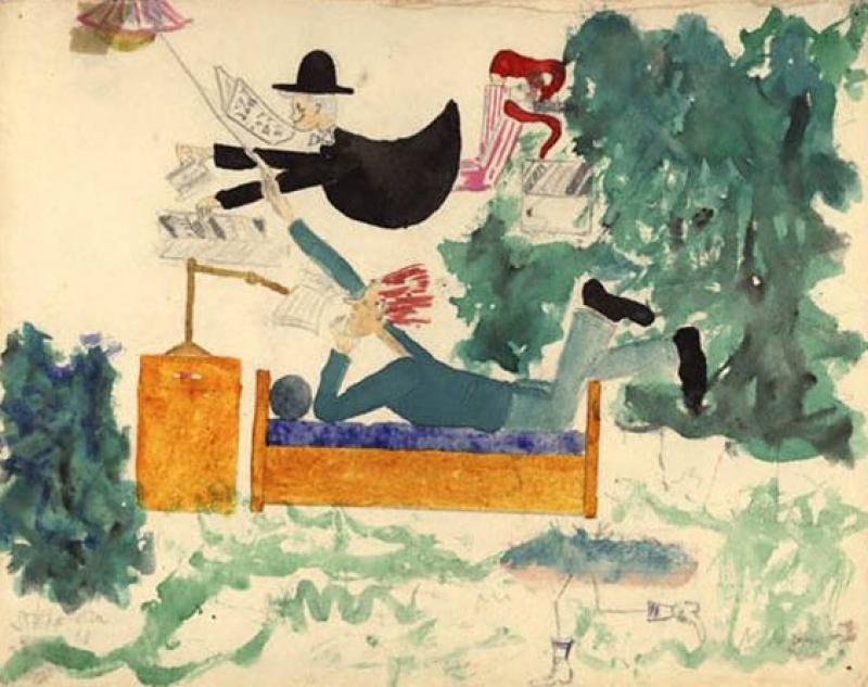 Moderni Dejiny Cz Detske Terezinske Kresby
